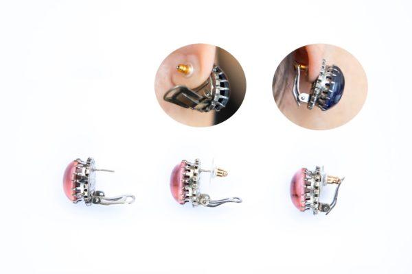 How to wear the Earrings